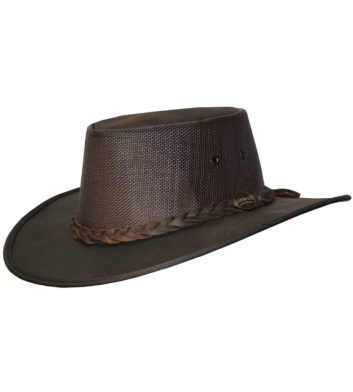 Kangaroo Leather Cooler Hat