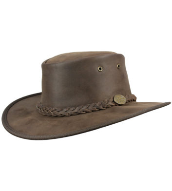Bronco Leather Hat