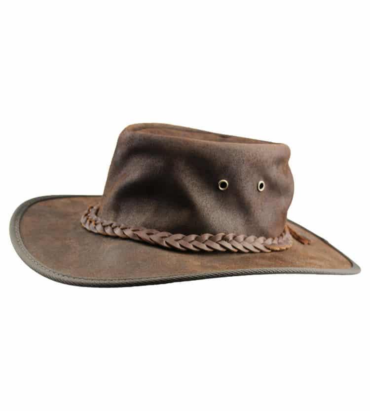 Saddler Leather Hat