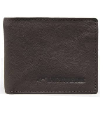 Kangaroo Leather Brown Two Fold Wallet