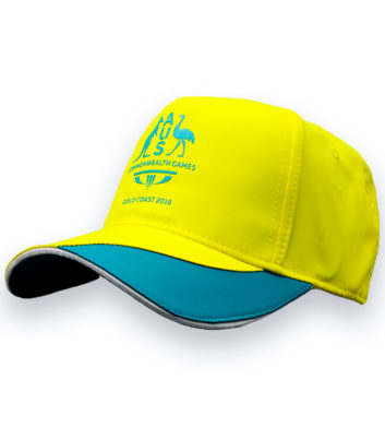 Commonwealth Games Cap Yellow