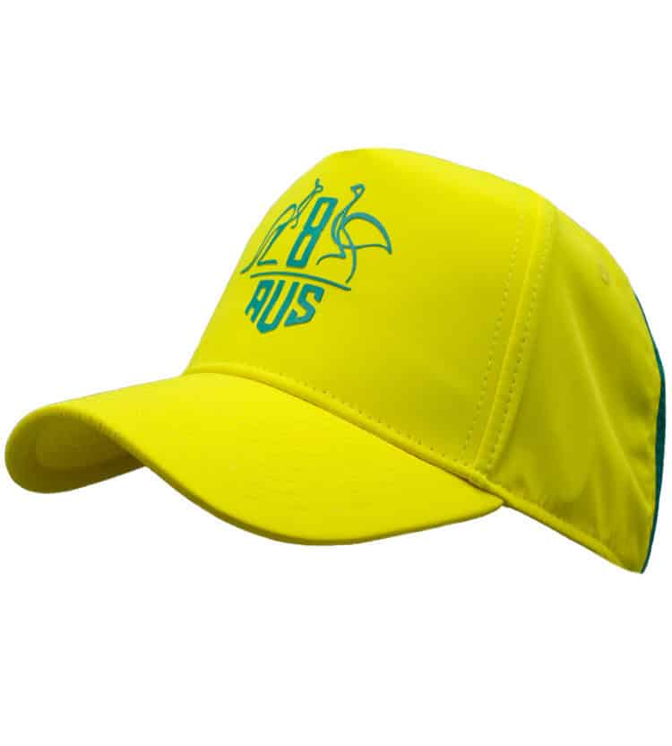 Green & Gold Fluro Cap