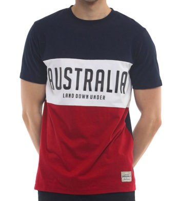Land Downunder Tri Colour T-Shirt