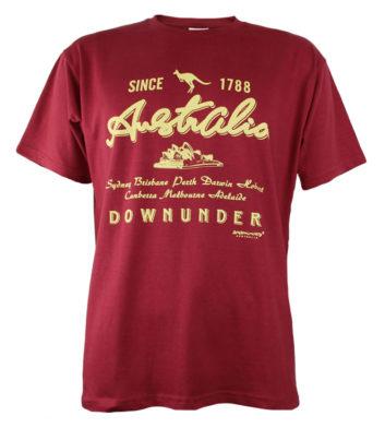 Australia Downunder 1788 T-Shirt