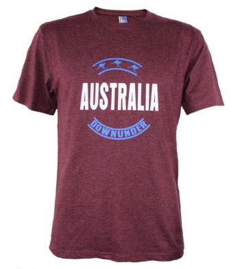 Australia Downunder Circle T-Shirt