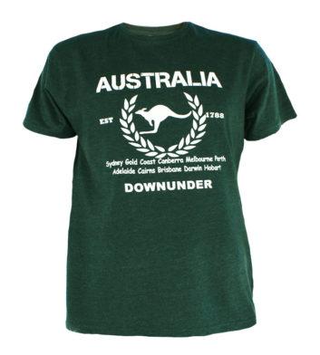 Australian Cities T-Shirt Green