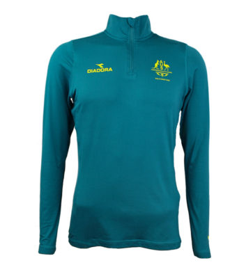 Ladies Commonwealth Games Zip Top
