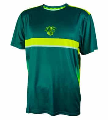 Green & Gold Tech T-Shirt