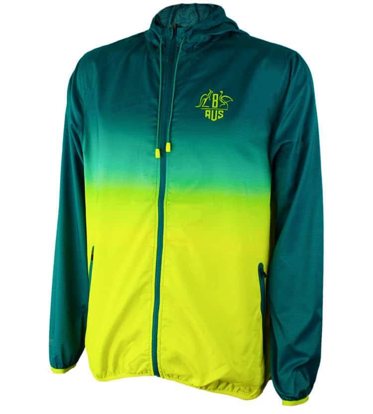 Green & Gold Unisex Jacket
