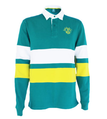 Green & Gold Rugby Shirt