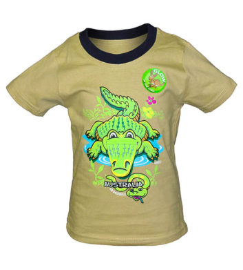 Flappy Crocodile Kids T-Shirt