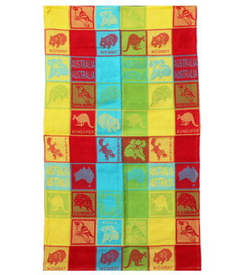 Australian wildlife Tea Towel