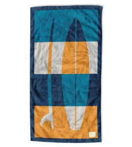 Surfboard Beach Towel