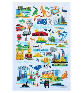 Australian Icon Tea Towel
