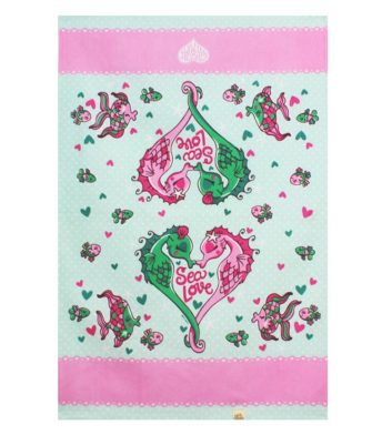 Sea Horse Tea Towel
