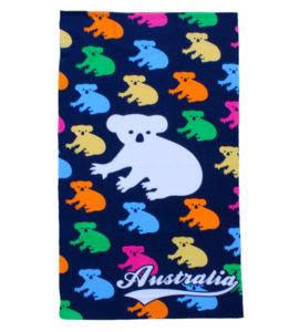 Multi Koala Towel