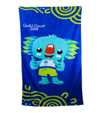 Commonwealth Games Borobi Towel