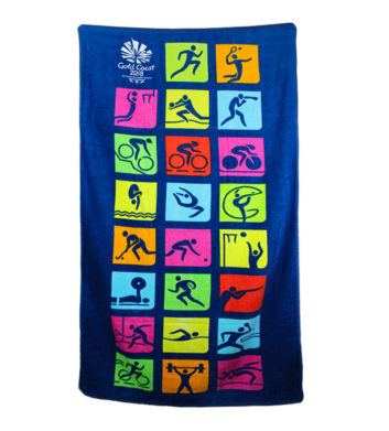 Commonwealth Games Icons Towel