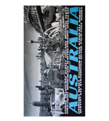 Australian Scenes Towel