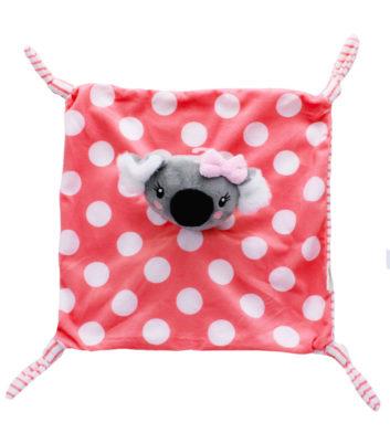Baby Koala Comforter Pink