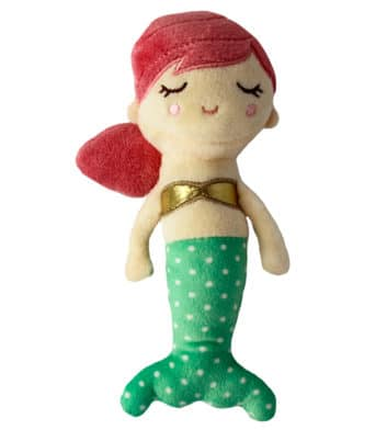 Baby Girl Mermaid Rattle