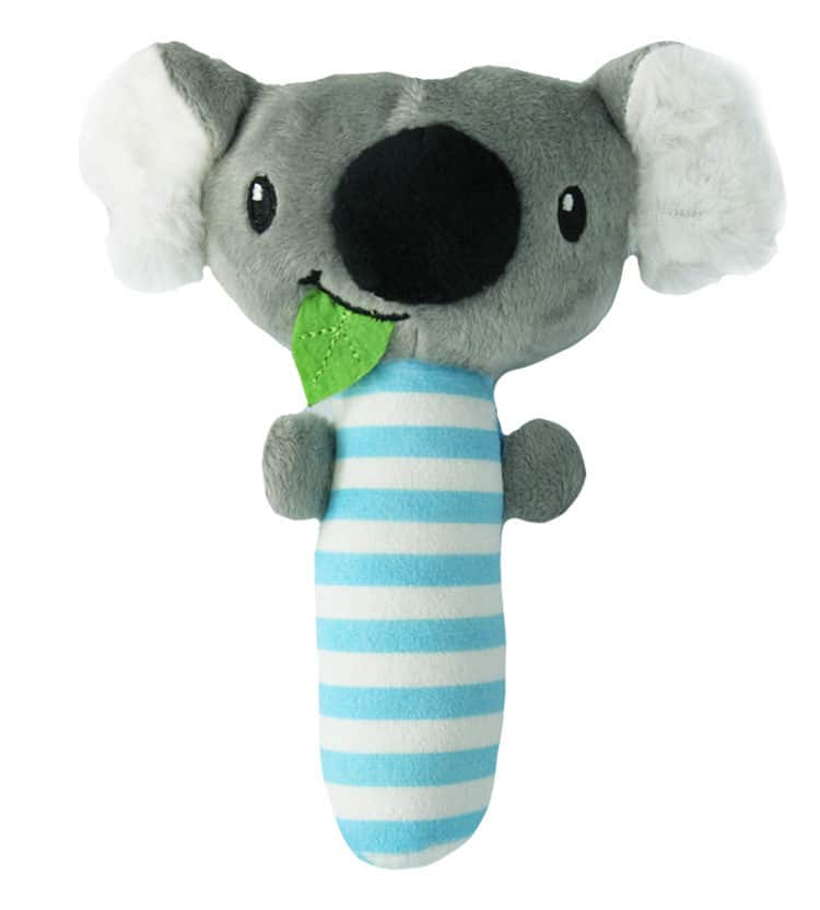 Baby Boy Koala Rattle