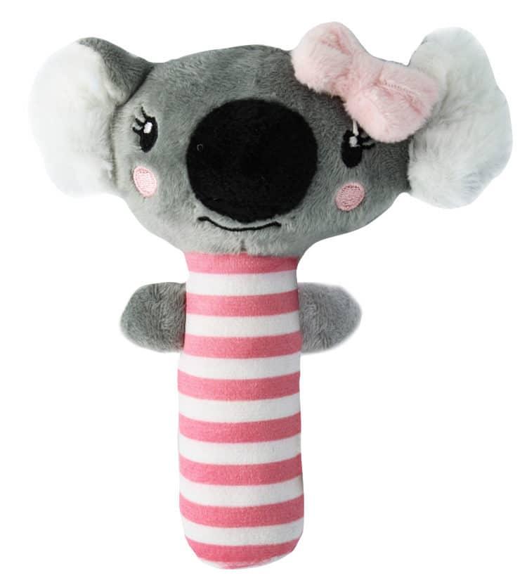 Baby Girl Koala Rattle