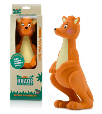Mizzie The Kangaroo Teething Toy