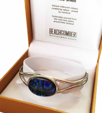 Paua Shell Bangle