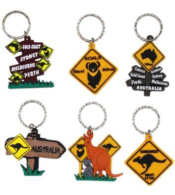 Australian Roadsign Keyrings