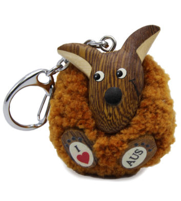 Soft Kangaroo Key Chain