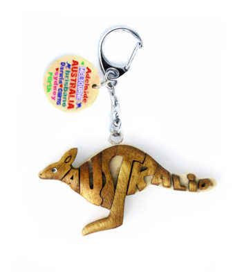 Kangaroo Key Ring
