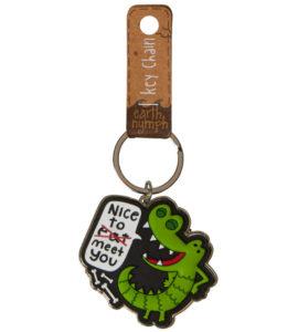 Crocodile Keyring