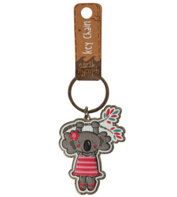 Koala Hanging Around Keyring