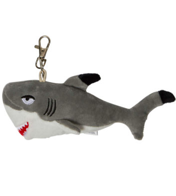 Soft Shark Keyring