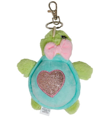 Soft Turtle Keyring