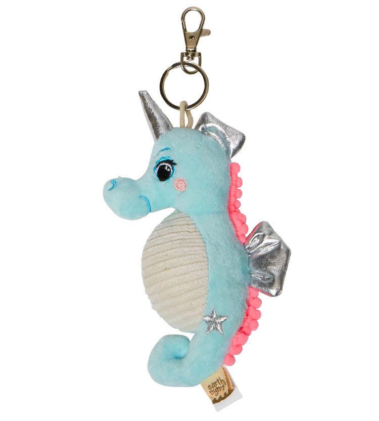 Soft Seahorse Keyring