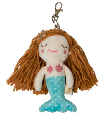 Soft Mermaid Keyring