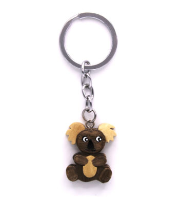 Wooden Koala Key chain