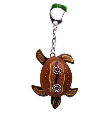 Turtle Wave Keyring