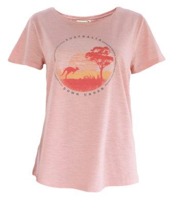 Australian Kangaroo States Womens T-Shirt