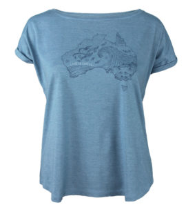 Australia Is Swell Womens T-Shirt