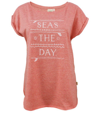Seas The Day Womens T-Shirt