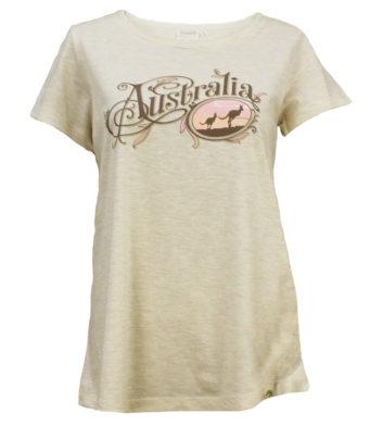 Kangaroo Sunset Womens T-Shirt