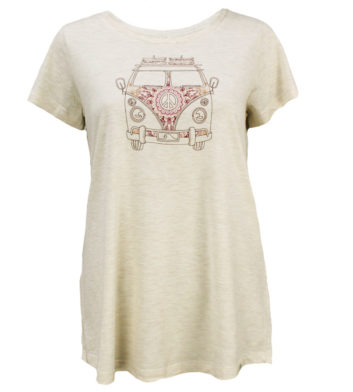 Peace Kombi Womens T-Shirt