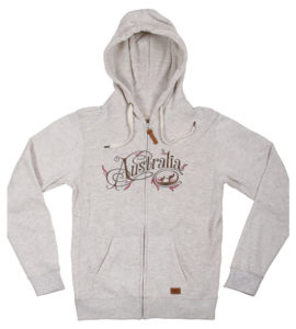 Ladies Australia Zip Hoody