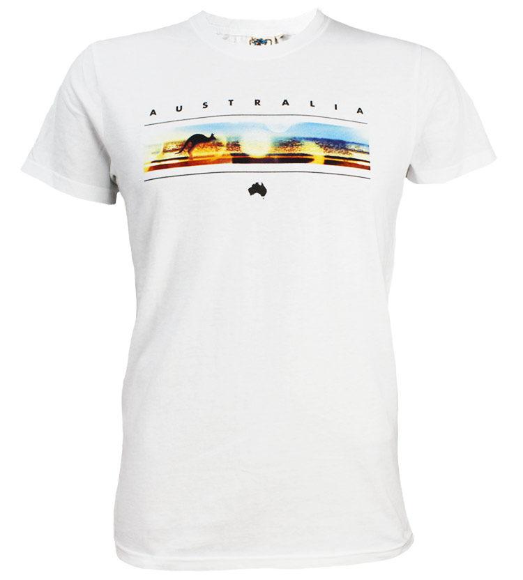 Australia Photo Band Mens T-Shirt