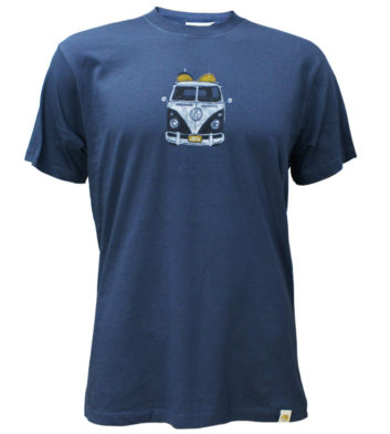 Kombi Surf Van Mens T-Shirt
