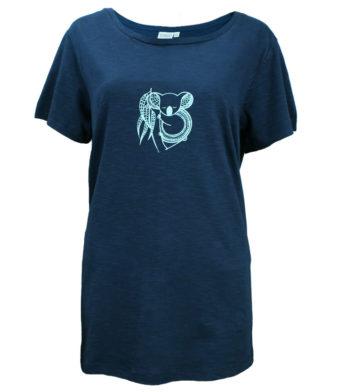 Koala Indigo Womens T-Shirt