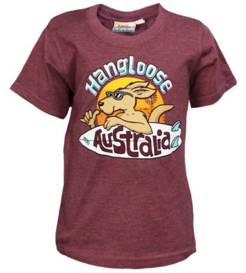 Kangaroo Hang Loose Kids T-Shirt